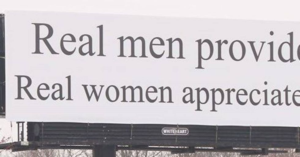 Sexist Billboard In North Carolina Draws Protests