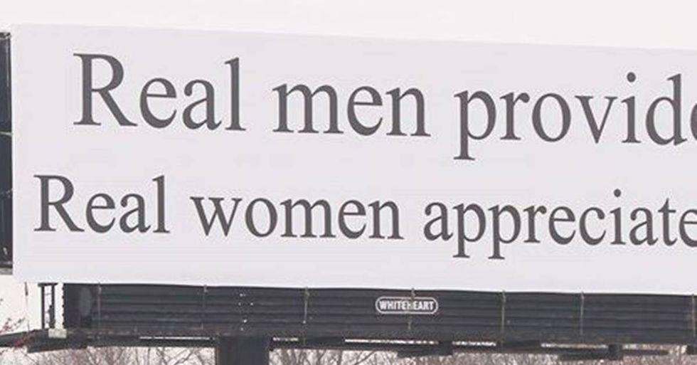 Sexist Billboard In North Carolina Draws Protests