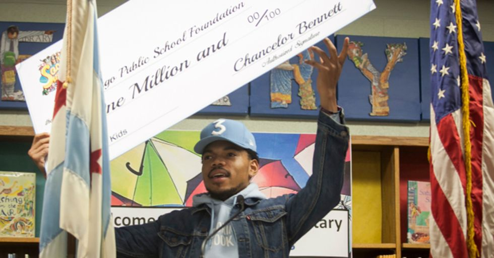 Frustrated By Political Red Tape, Chance The Rapper Donates $1MM To Chicago Schools