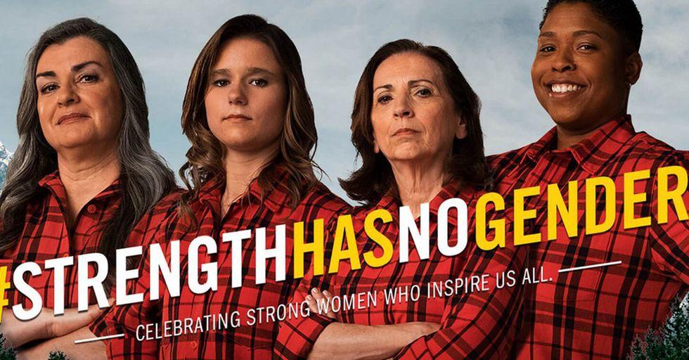 Brawny Is Making Its Iconic Lumberjack Female In Honor Of Women's HistoryMonth