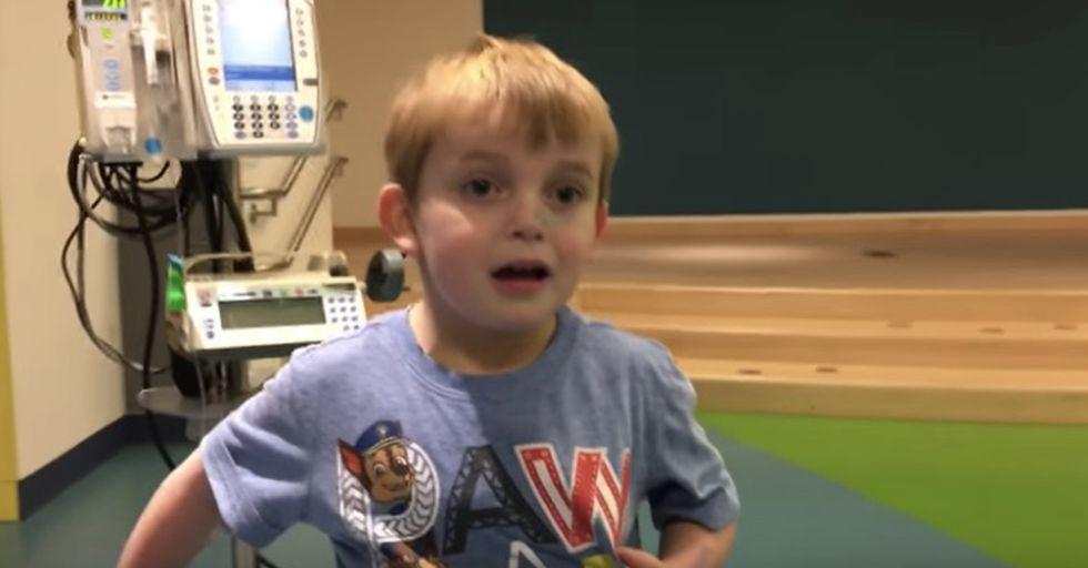 Doctors Tell This 5-Year-Old They Found Him A New Heart, And His Reaction Is Priceless