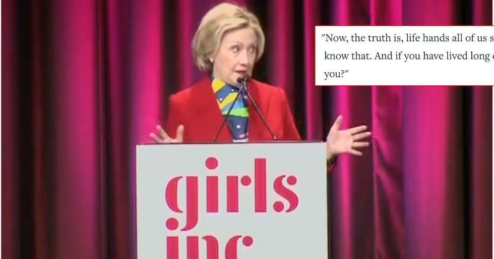 Reinvigorated Hillary Clinton Calls For A 'Wave Of Young Women' To Run For Office