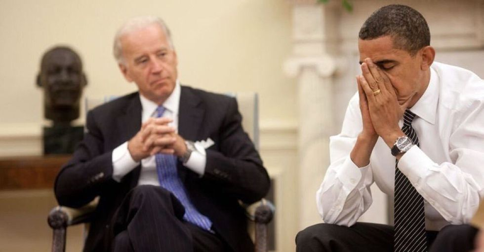 Joe Biden Just Revealed What His Favorite Biden-Obama Bromance Meme Is