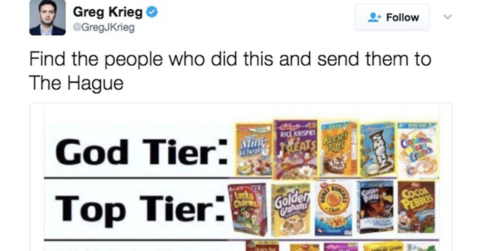 How A Reporter's Simple Tweet About Cereal Turned Into A Hotly Debated Social Media Firestorm