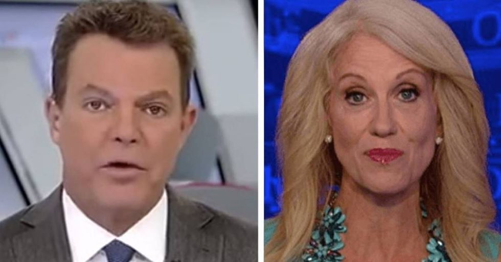 Fox News' Shep Smith Has Finally Had It With Kellyanne Conway