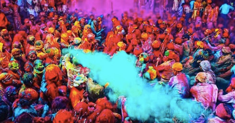 These Pictures From India's Holi Celebration Of Love And Color Will Put The Event On Your Bucket List