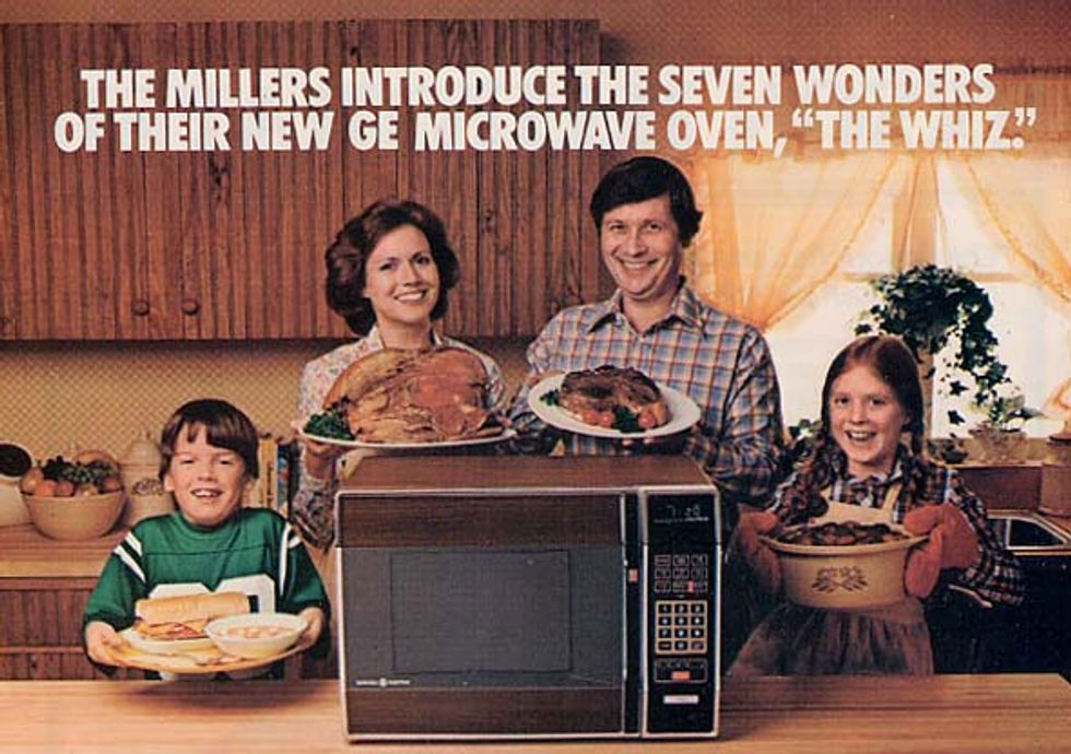 The Long, Strange History Of The Home Microwave