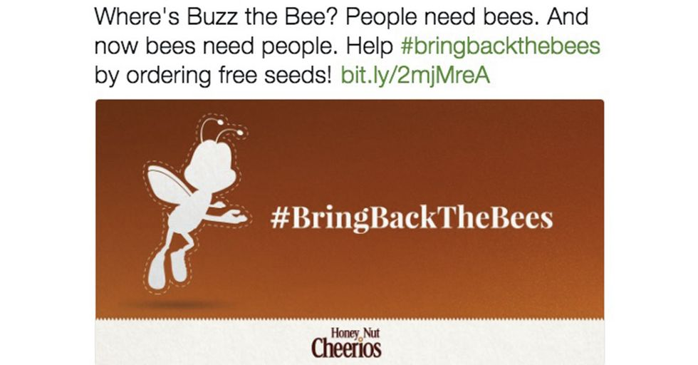 Cheerios Is Giving Away 100 Million Wildflower Seeds To Save The Honey Bee Populations Around The World