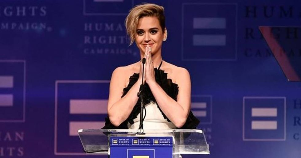 Katy Perry Receives Human Rights Campaign Award For Her LGBT Advocacy
