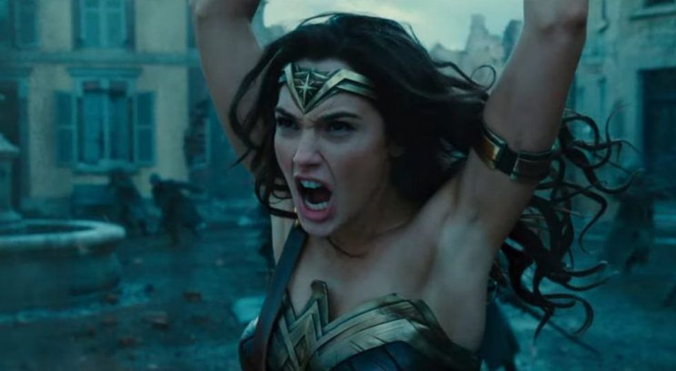 The New 'Wonder Woman' Trailer Is Dividing The Internet Over Armpit Hair