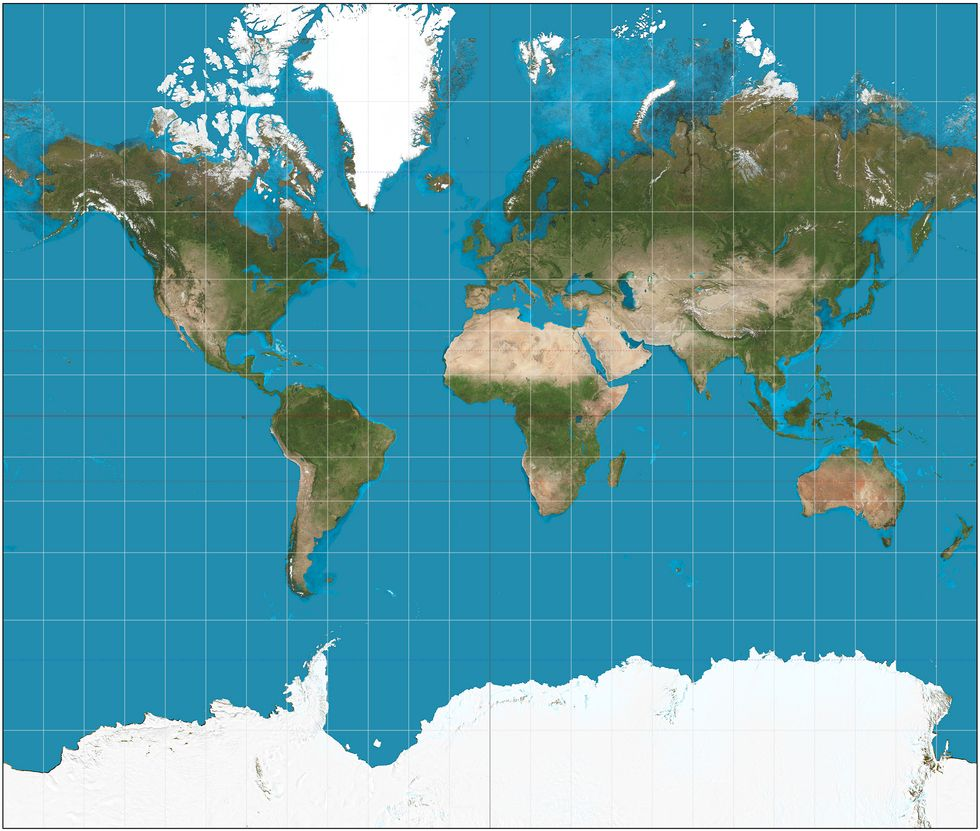 Students Are Getting A Radically Different View Of The World With Updated Maps
