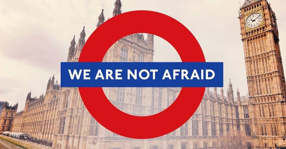 The History Of The 'We Are Not Afraid' Image