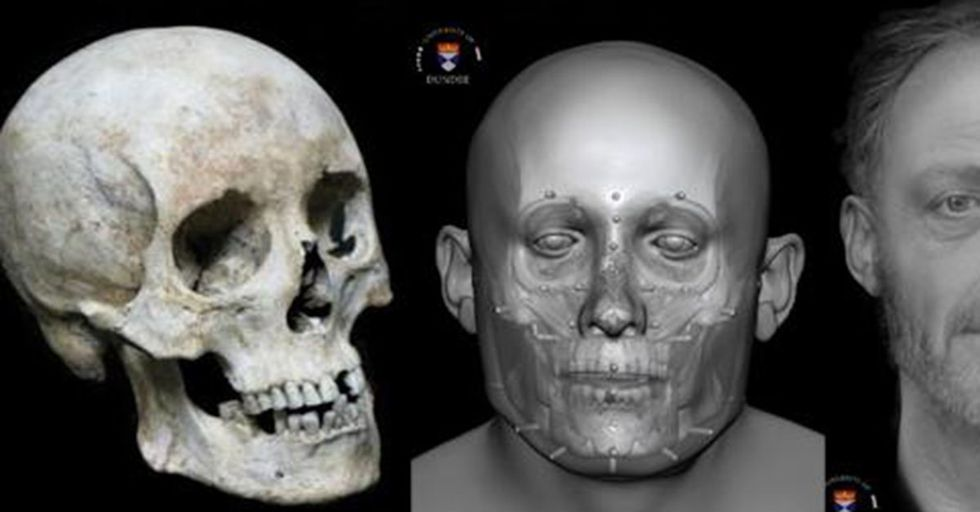 The Face Of A Man Who Died 700 Years Ago Is Revealing How The Poor Lived In Medieval England