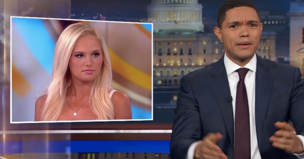 Trevor Noah Shows Support For Ostracized Conservative Tomi Lahren In His Own Scathing Way