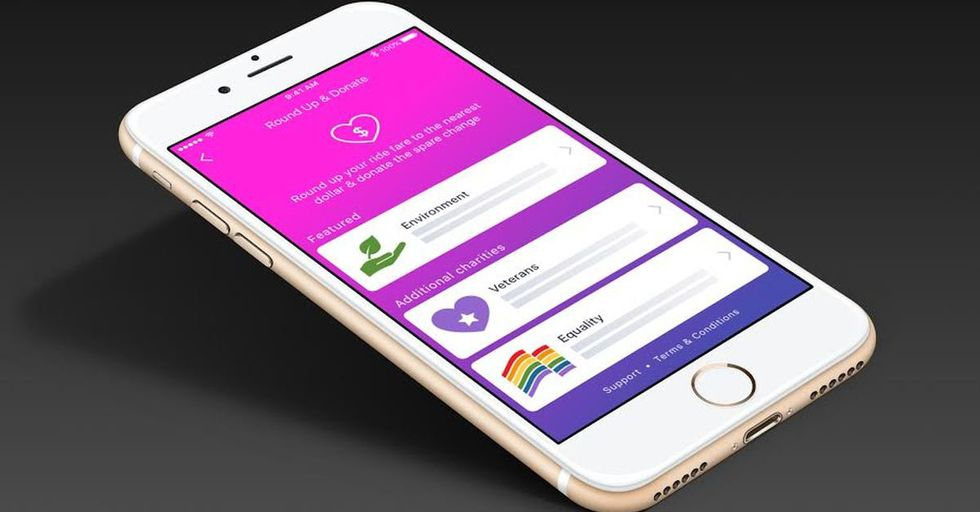 Lyft Is Letting Customers Round Up Their Tabs, Donating The Difference To Causes Of Their Choice