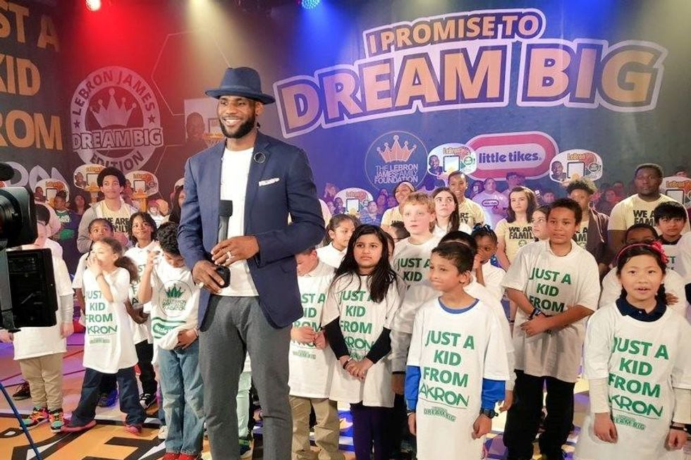 LeBron James Makes Impassioned Plea For Better Leadership In Youth Sports