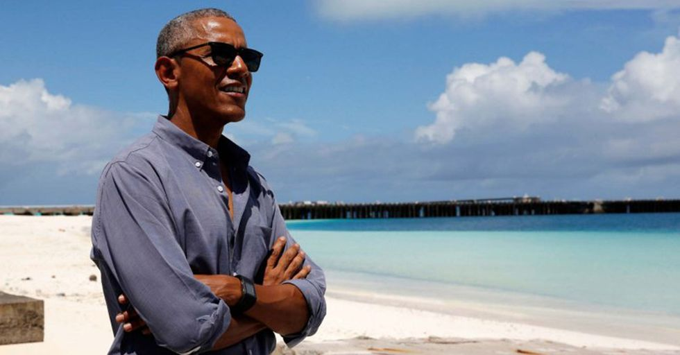 Barack Obama Is Currently Residing On A South Pacific Island To Write His Memoirs