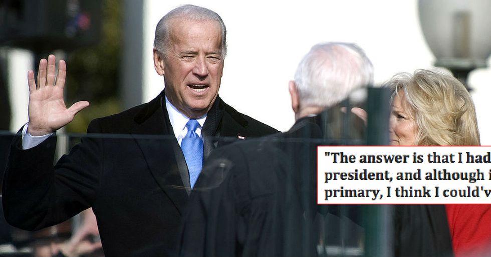 Joe Biden Wishes He'd Run For President