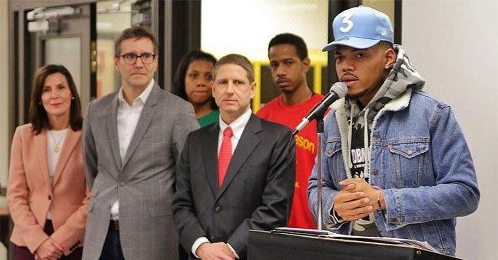 Chance The Rapper Convinces The Chicago Bulls To Match His $1MM Donation To Public Schools