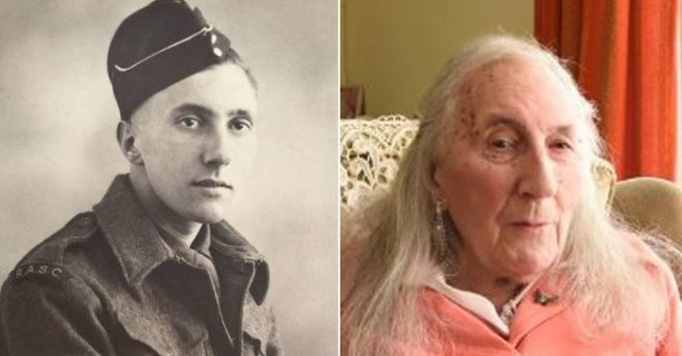 90-Year-Old World War II Vet Comes Out As Transgender