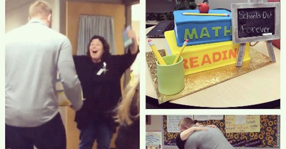 NFL Star J.J. Watt Surprised His Fourth-Grade Teacher's Class With A Gift For Her Retirement