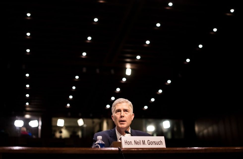 Neil Gorsuch Is Already Changing American Politics, And He Hasn't Even Been Confirmed Yet