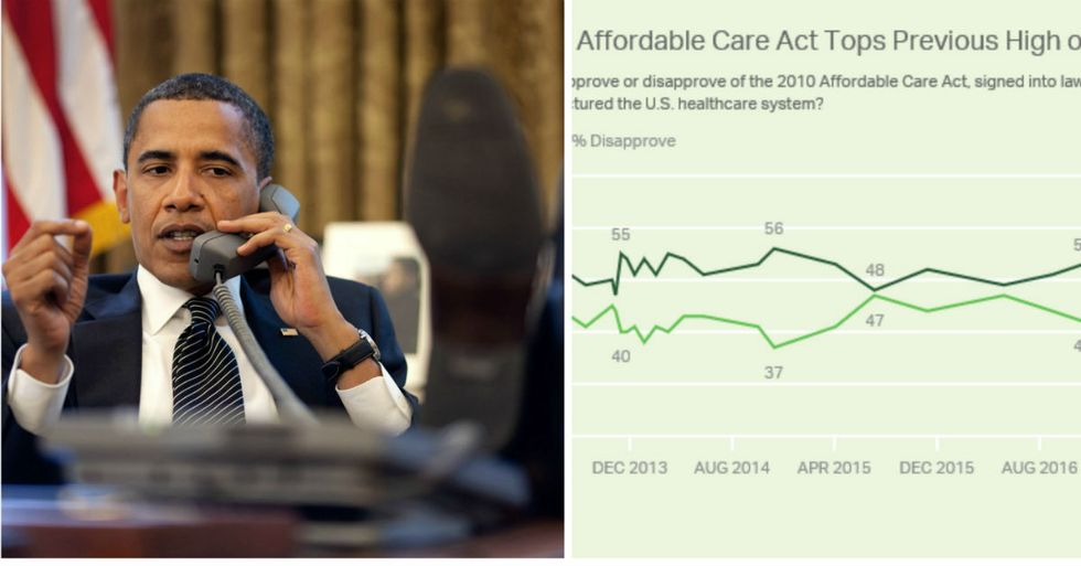 Obamacare Is Suddenly More Popular Than Ever