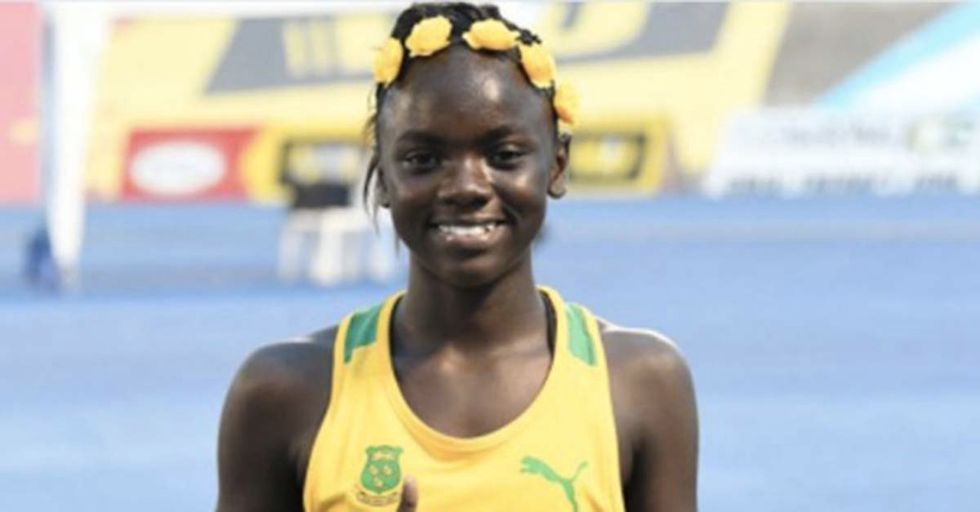 She's Being Called The Next Usain Bolt At Just 12 Years Old