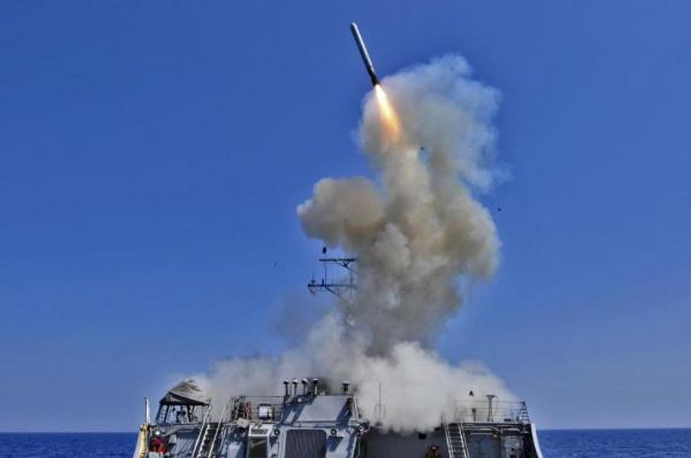 Trump's Missiles Against The Syrian Government Are Loaded With Meaning