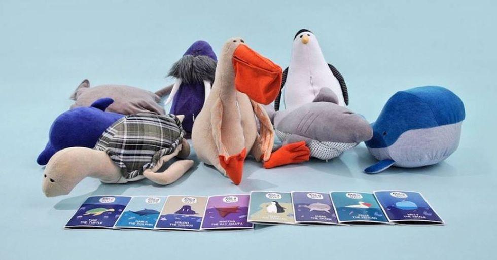 Pollutoys Teach Children About Ocean Pollution