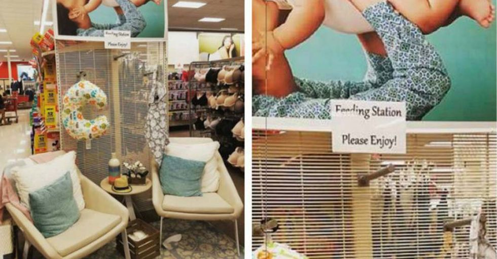Target's New Breastfeeding Stations Are Looking Like A Gamechanger For Shoppers With Kids