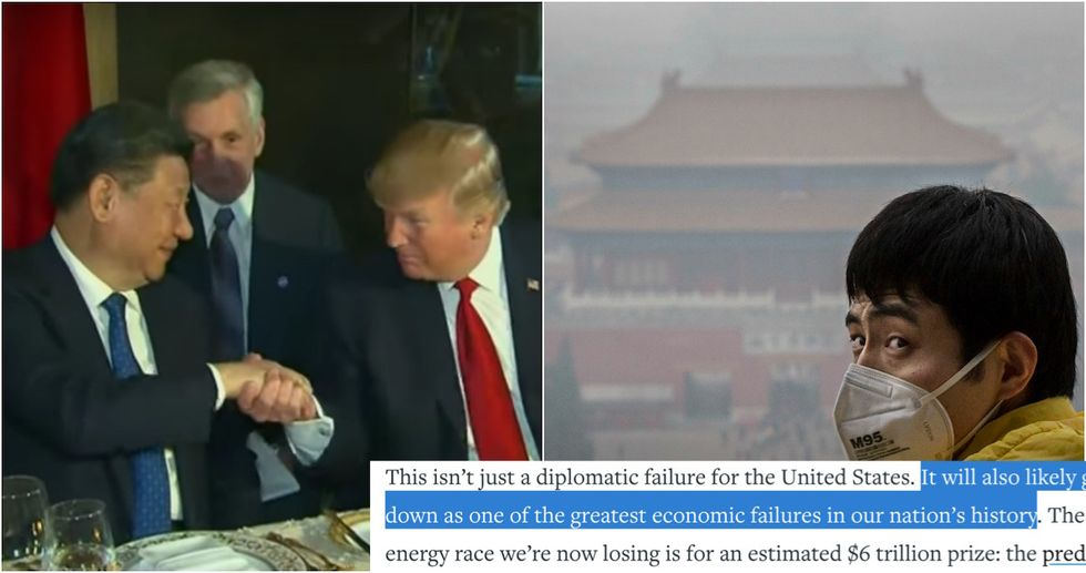 While America Launches Missiles, China Quietly Leads On Climate Change