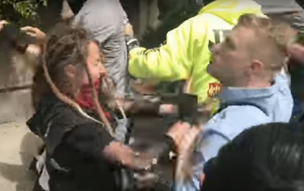 """Alt-Right And """"Antifa"""" Collide At Protest In Berkeley"""