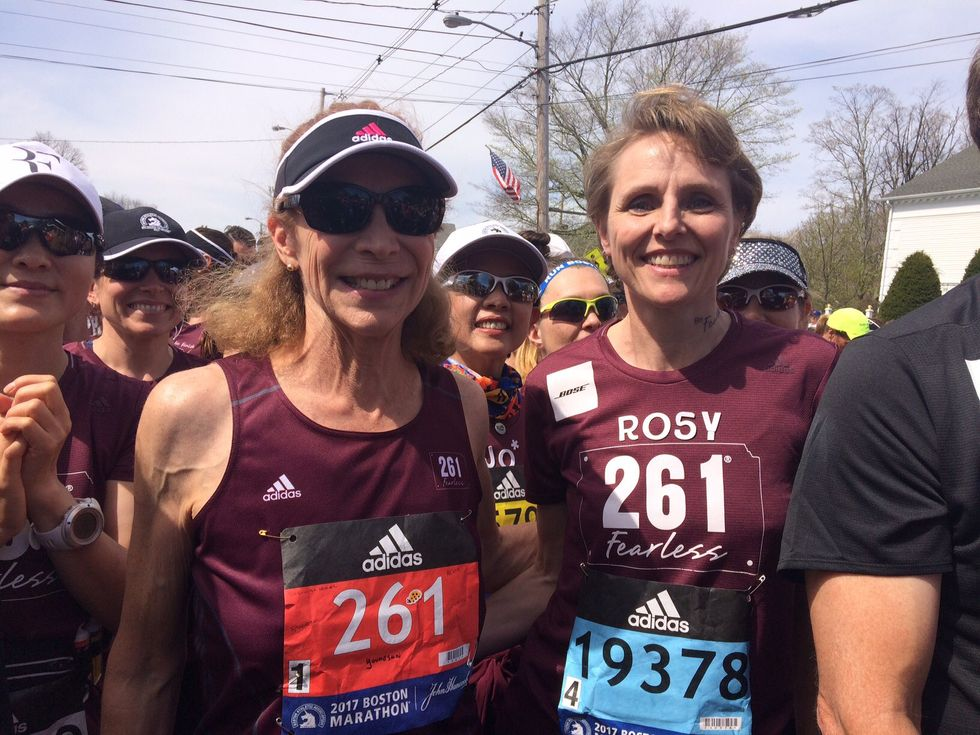 The First Woman To Run The Boston Marathon Is Running It Again 50 Years Later