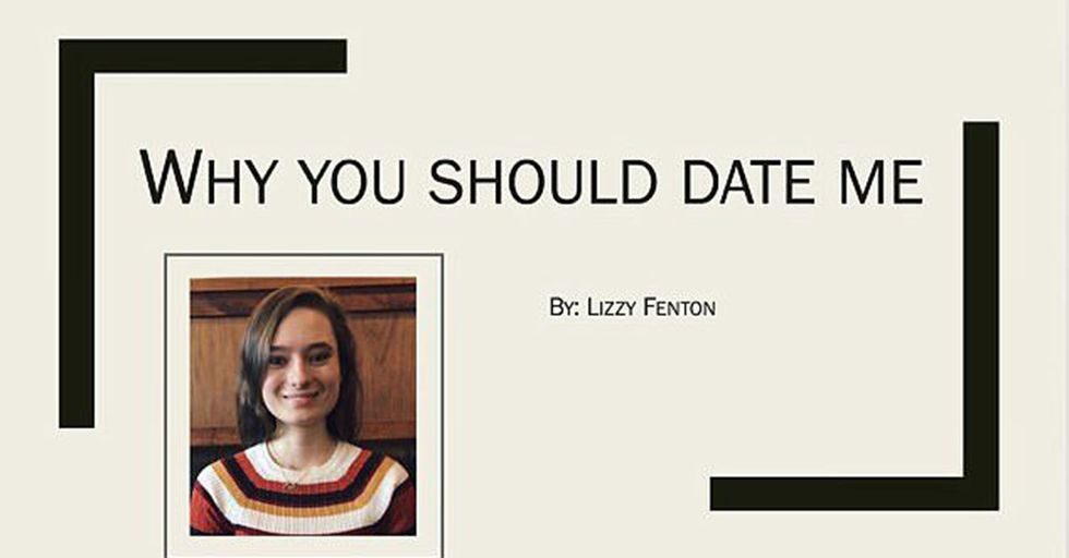 A College Student Sent Her Crush An Impressive PowerPoint On Why He Should Date Her