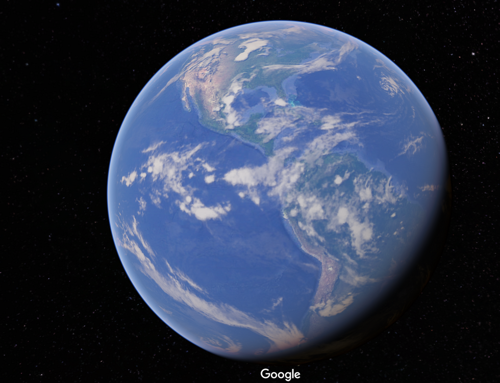 Google Earth Got A Stunning New Update Just In Time For Earth Day