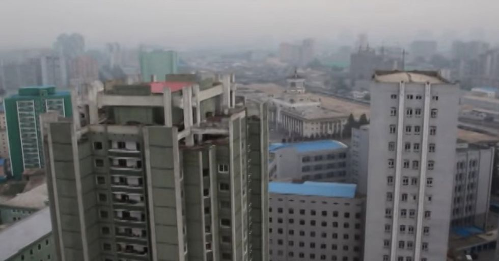 This Is The Creepy Song That North Korea Blares Through Pyongyang To Wake Up Its Residents
