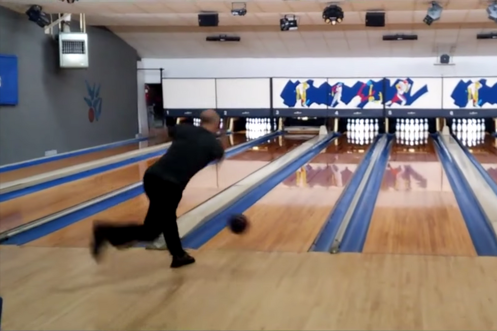 Watching This Bowler Try To Roll A Perfect Game In Less Than 90 Seconds Is Mesmerizing