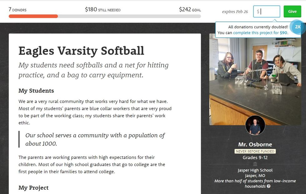 Worthy Cause Countdown: Help This Softball Team Raise $180 For Equipment