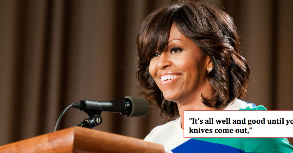 Michelle Obama Says She Won't Ever Run For Office