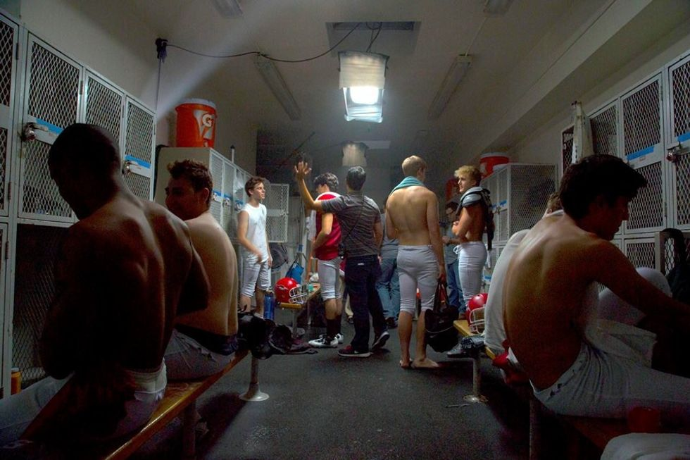 It's Time to Reimagine The High School Locker Room