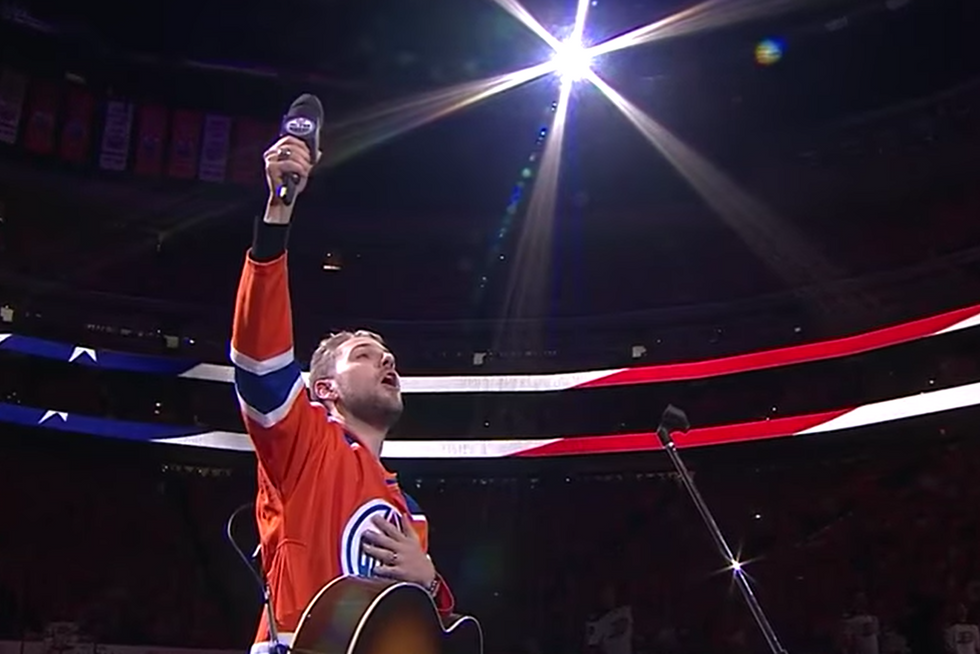 Watching 18,000 Canadians Sing America's National Anthem Will Give You Chills