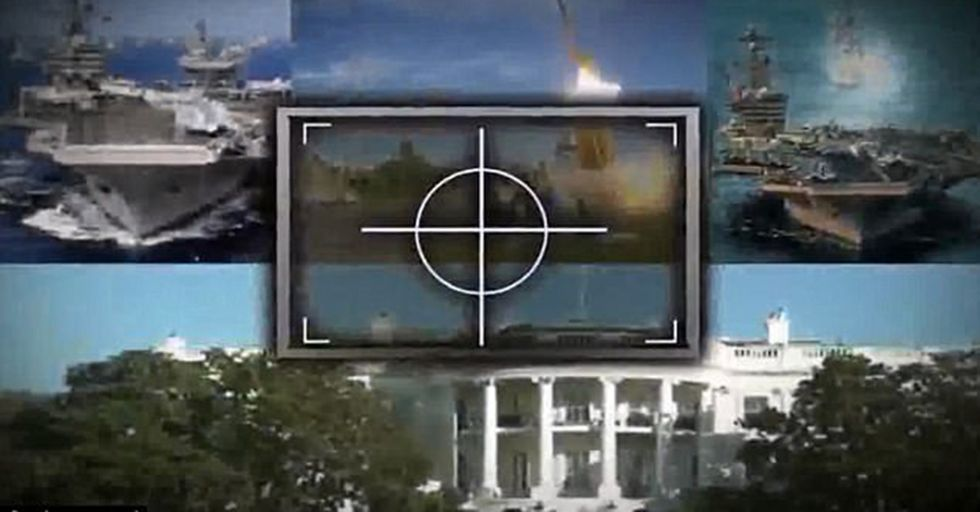 North Korea Releases Low-Budget Propaganda Video Of Missiles Hitting The White House And Aircraft Carriers