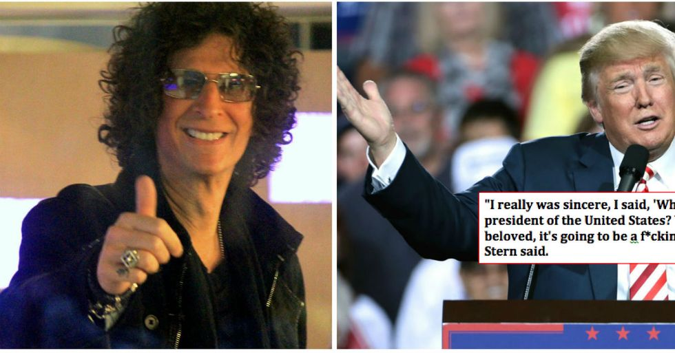 Howard Stern Predicted Exactly What Would Happen To Trump As President
