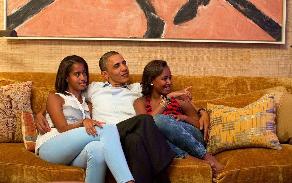How The Obamas Spent Their Last Night In The White House