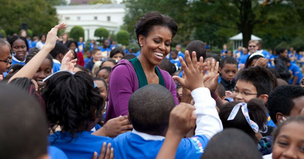 The Fate Of Michelle Obama's Groundbreaking Education Program