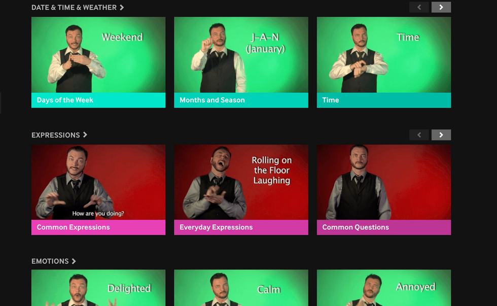It Just Got Way Easier To Teach Sign Language