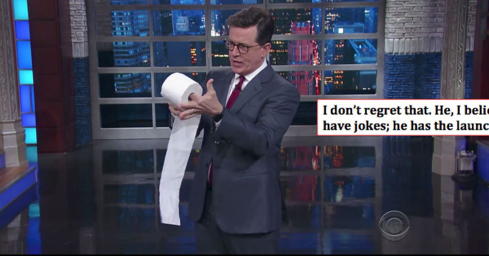 Stephen Colbert Responds To The Lazy Right-Wing Conspiracy To Label Him 'Homophobic'