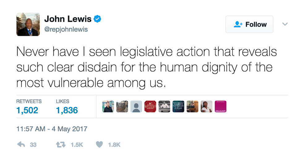 Politicians Share Their Feelings On Trump's Health Care Bill On Twitter