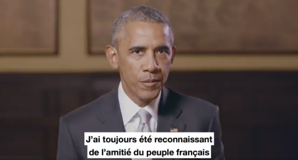 Obama Just Made A Huge Announcement To Stop France's Version Of Donald Trump